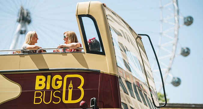 Big Bus London Tickets buchen