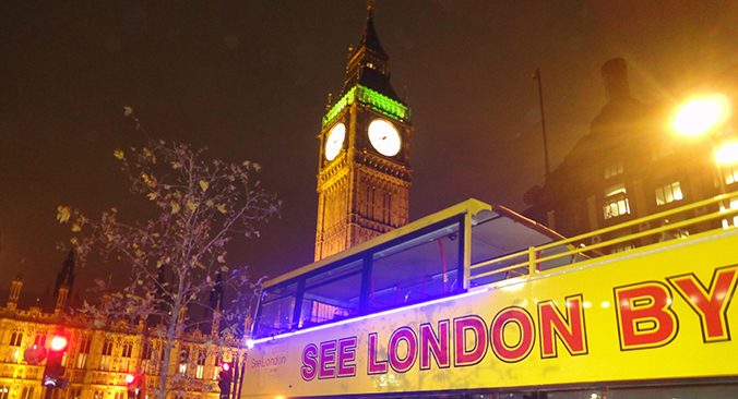 London by night Tickets buchen