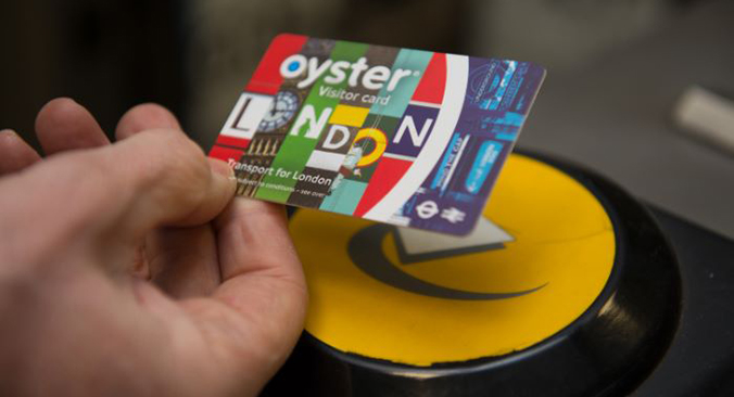 Visitor Oyster card Tickets buchen
