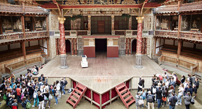 Shakespeare´s Globe Theatre Tickets buchen