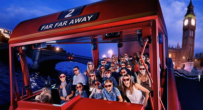 Shrek´s Adventure London Tickets buchen
