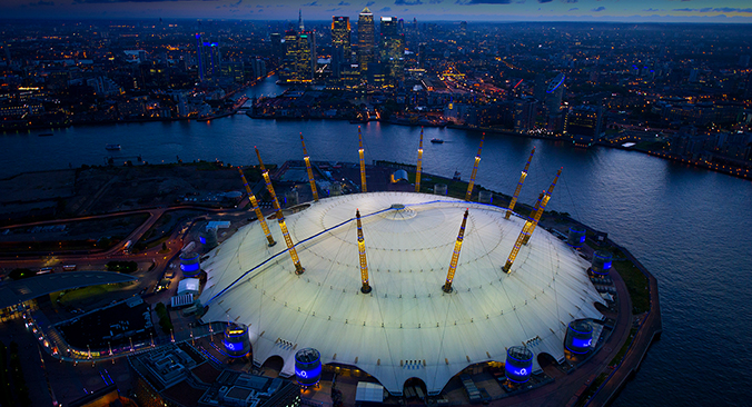 Up at the O2 Tickets buchen