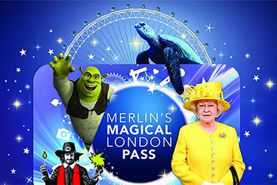 Big London Attraction Ticket